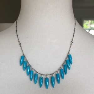 New Auth Chan Luu Turquoise Bullet Tear Drop Silve